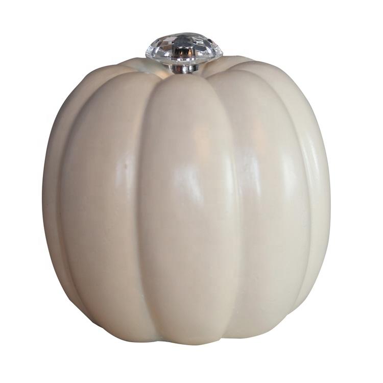 resin pumpkin figurine