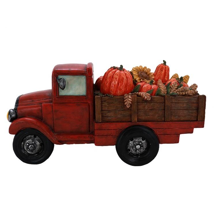 thanksgiving fram truck decor