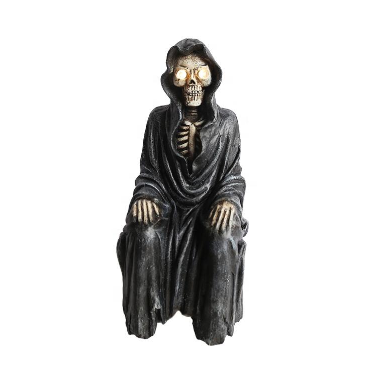 scary halloween decr