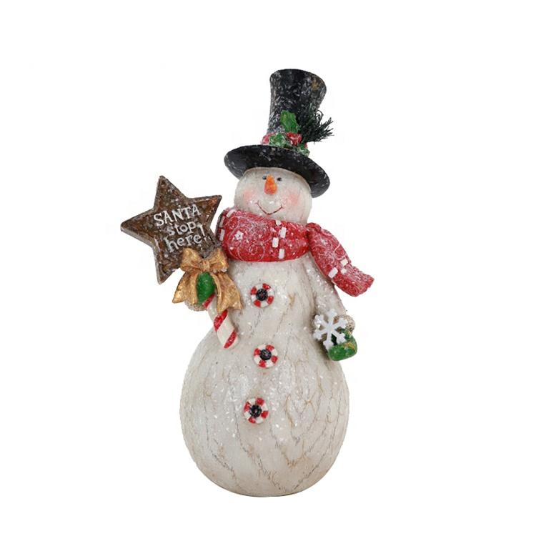 Snowman tej żywicy XMAS