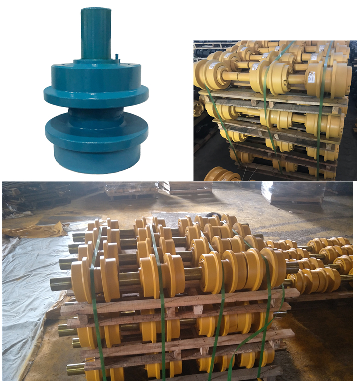 China PC100 carrier roller