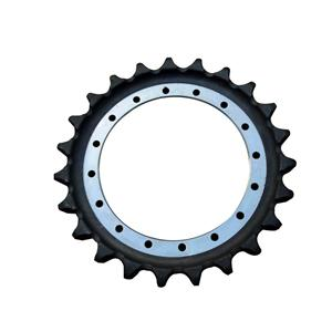 Excavator Undercarriage Parts SK350 Sprocket For KOBELCO