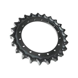 Excavator Undercarriage Parts E330 Sprocket For CAT