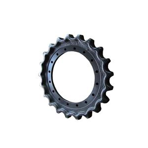 Excavator Undercarriage Parts EX100 EX120 Sprocket For HITACHI
