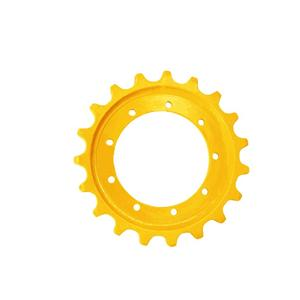 Excavator Undercarriage Parts EX55 Sprocket For HITACHI