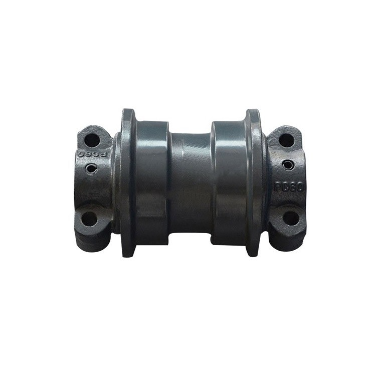 Excavator Undercarriage Parts PC60 Track Roller For KOMARSU