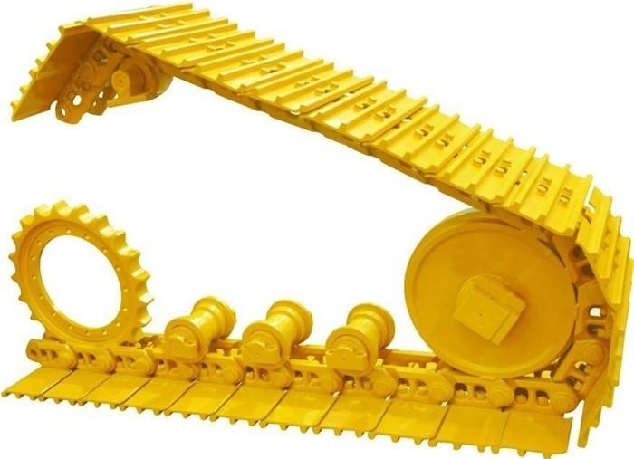 Excavator SK350 track link