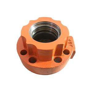 PC200 Cylinder Head Parts For KOMATSU Excavator Cylinder