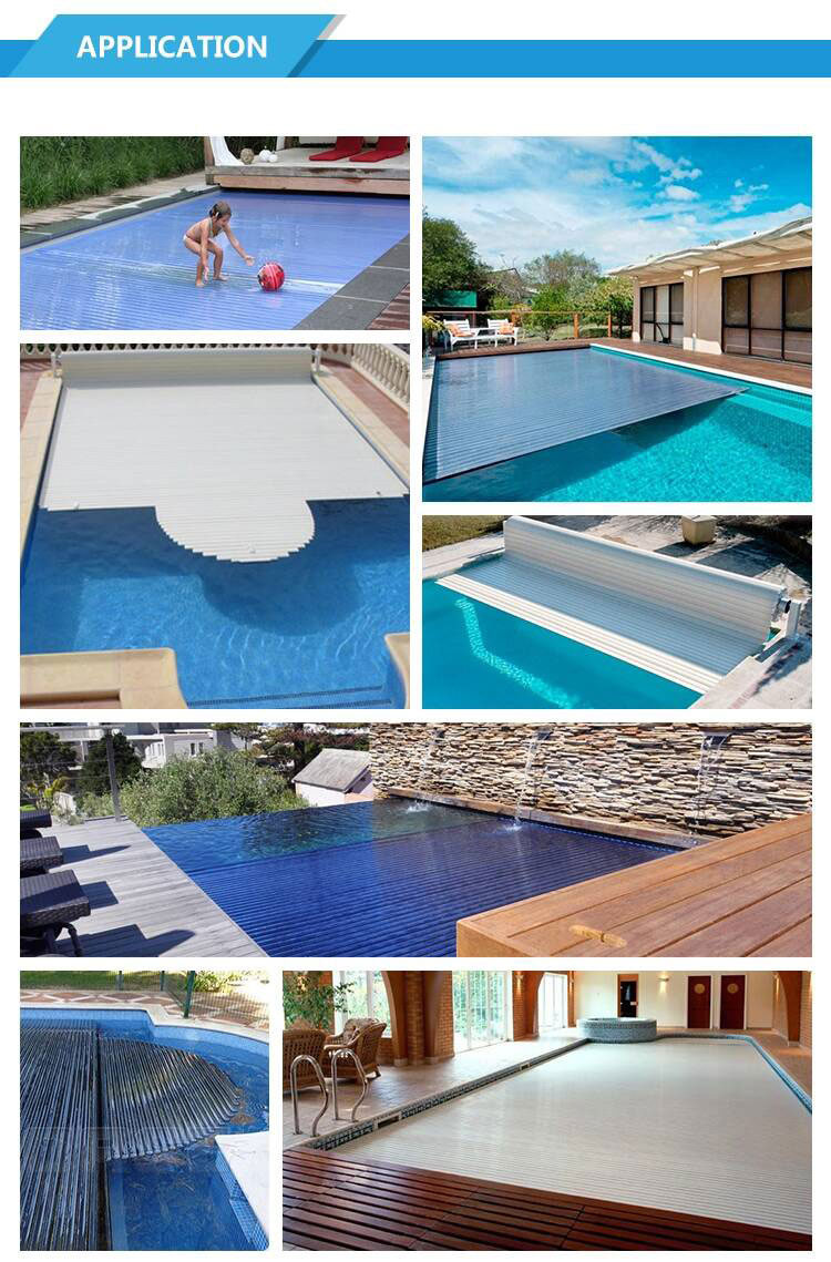 Private swimming pool cover