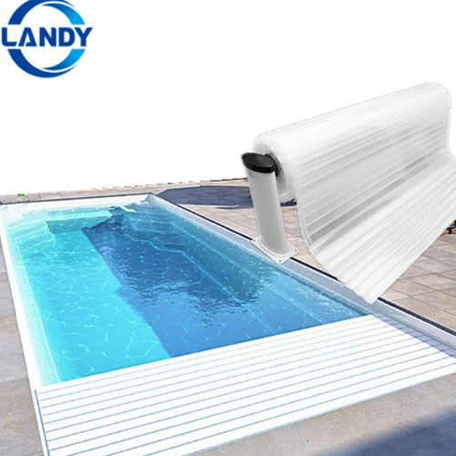 Retractable Polycarbonate Swimming Pool Cover