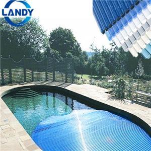 Dacheindeckung Kunststoff Polycarbonat Schwimmbadabdeckung