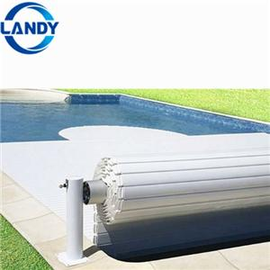 Retractable Polycarbonate Swimming Pool Cover Pump