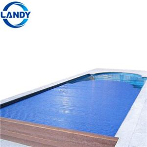 Private Mobile Shaped Swimming Pool Cover