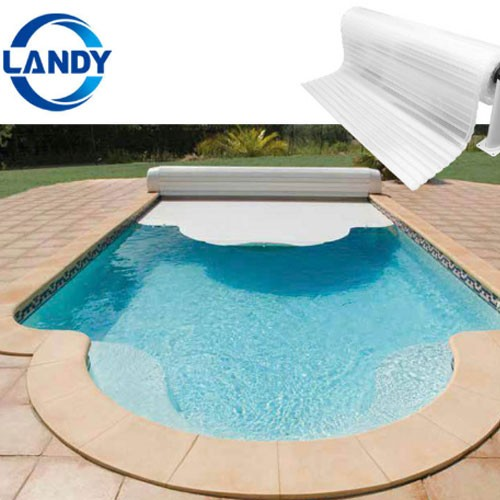 Automatic Retractable Transparent Invisibles Wimming Pool Covers