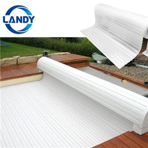 Convenient for customers blue easy clean automatic pool cover Pool Cover Slats