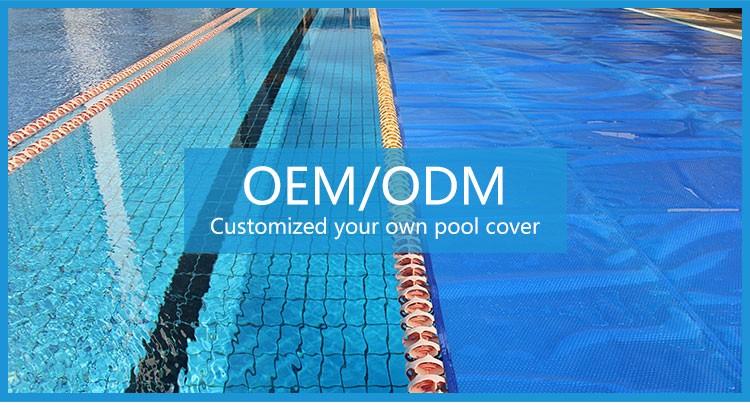 Solar inground pool cover swimming
