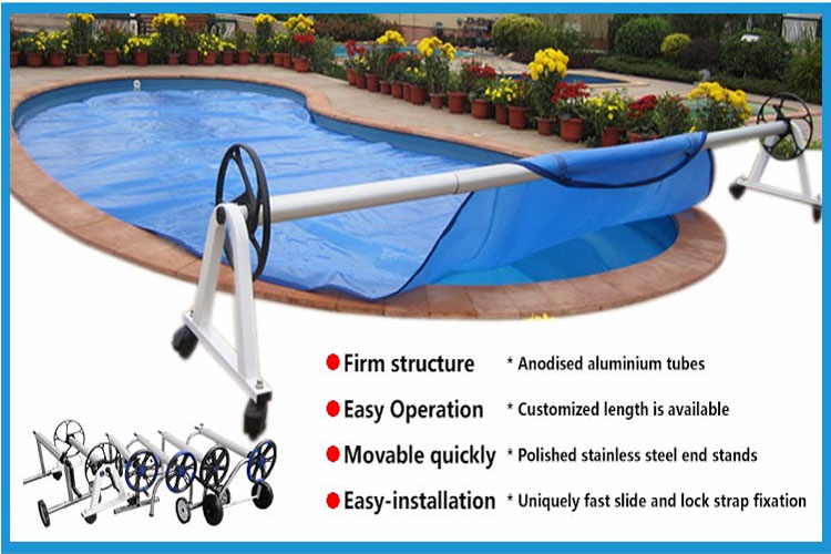 Stainless steel pool reel for swimming pool