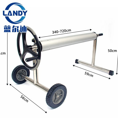 Retail Stainless Steel High Quality Ground Swimming Pool Solar Cover Reel Roller Manufacturers, Retail Stainless Steel High Quality Ground Swimming Pool Solar Cover Reel Roller Factory, Supply Retail Stainless Steel High Quality Ground Swimming Pool Solar Cover Reel Roller