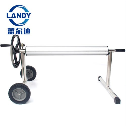 Retail Stainless Steel High Quality Ground Swimming Pool Solar Cover Reel Roller
