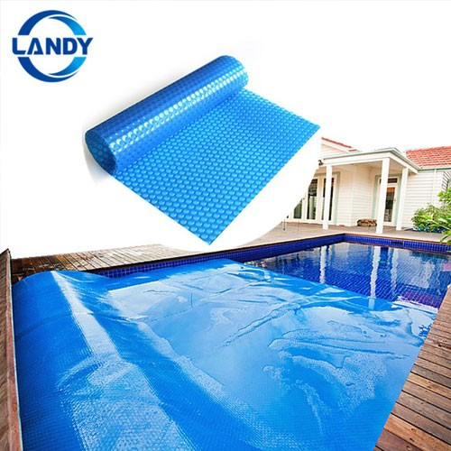 Solar inground pool cover swimming,Air bubble outdoor air bubble foil pool cover fabric