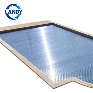 Polycarbonate Slatted Swimming Sool Cover Enclosure