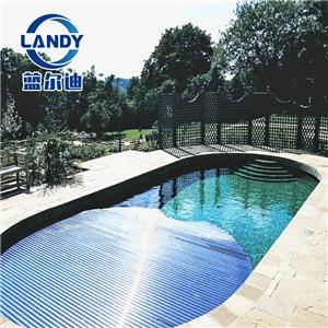 Automatic Reel Slatted Pool Cover For Safety