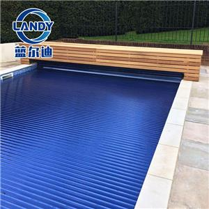 Covered Villa Swimming Pool Electric Cover