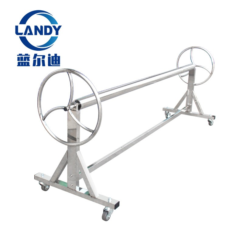 Durable Stainless Steel High-Quality Pool Reel Movable Swimming Pool Solar Cover Roller Manufacturers, Durable Stainless Steel High-Quality Pool Reel Movable Swimming Pool Solar Cover Roller Factory, Supply Durable Stainless Steel High-Quality Pool Reel Movable Swimming Pool Solar Cover Roller