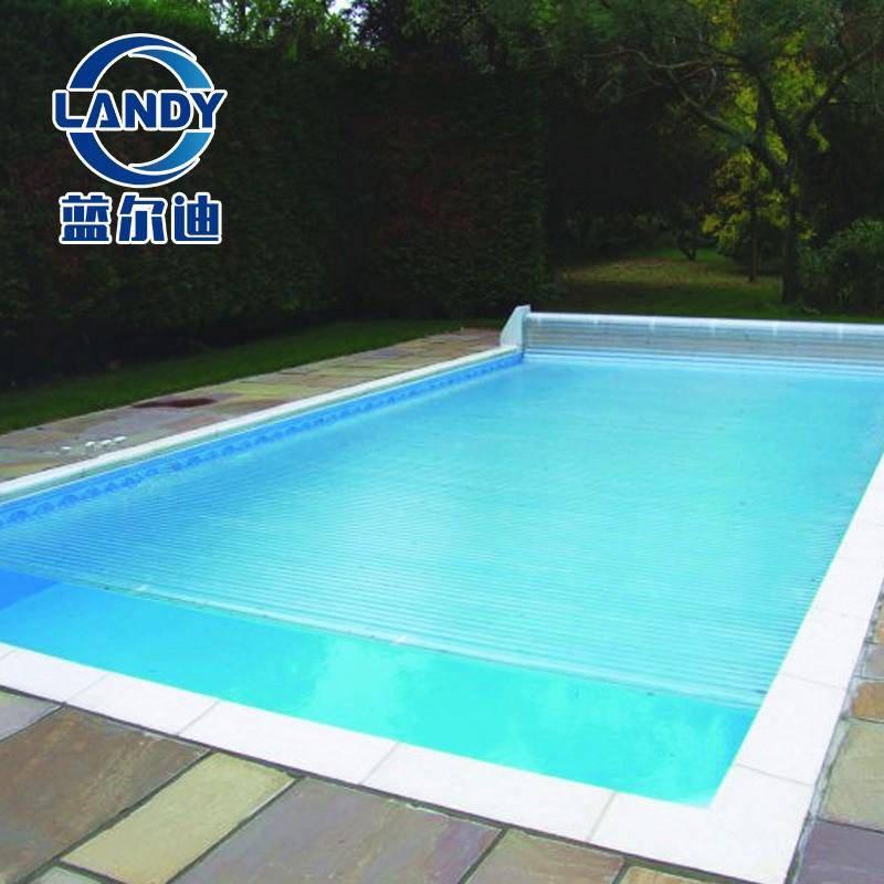 Крышка для частного мобильного бассейна в форме