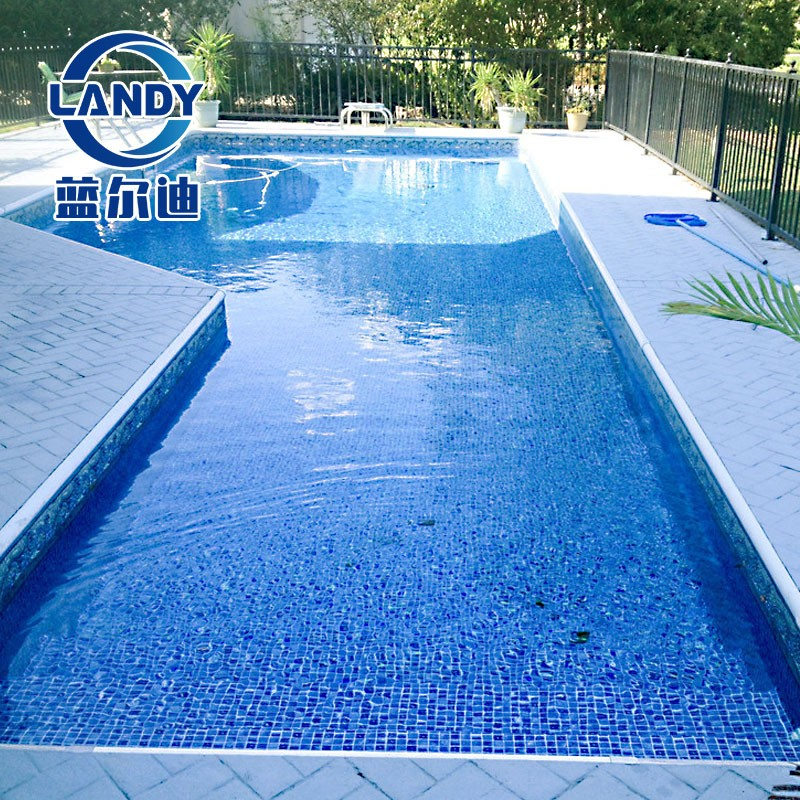 Swimming pool liners in ground Oval Mosaic Waterproof and non-slip