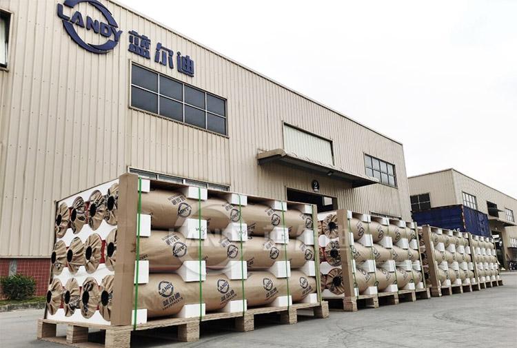 PVC pool liner package