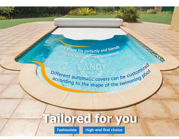 automatic pool cover reel