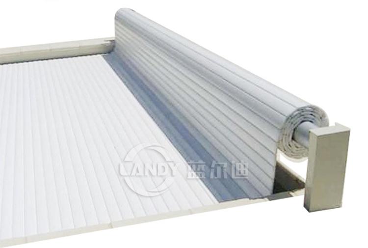 motorized solar cover reel