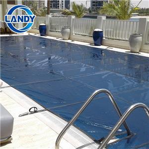Cobertura de segurança para piscina embutida em PVC maciço e durável cobertura para piscina