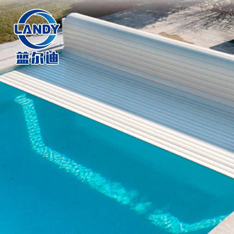 Cobertura de piscina DIY e cobertura automática de rolo solar para piscina