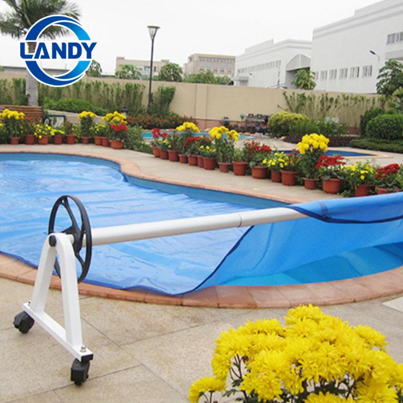 Carretel de piscina Landy de aço inoxidável para piscina e spa, tubos AL duráveis e de longa duração