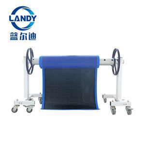 Rolo de cobertura solar automático de piscina de alta eficiência