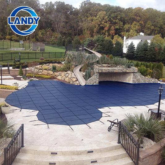 Coberturas de malha de segurança de piscina para piscinas inground