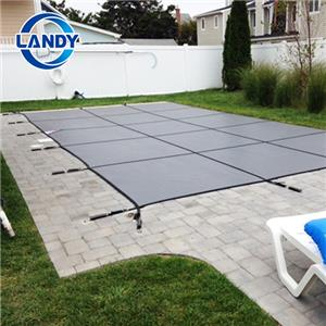 Professional mesh safety swimming pool cover