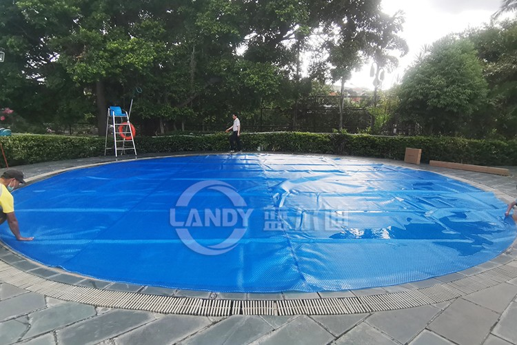 blue wave bronze pool cover