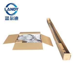 Embalagem para máquina de enrolamento de aço inoxidável de cobertura de piscina Landy