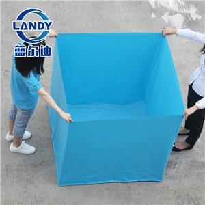 Il rivestimento standard è un foglio di PVC sintetico per il rivestimento interno delle piscine
