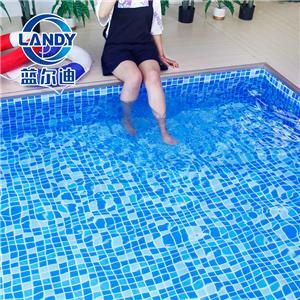 Blue PVC Liner Pool