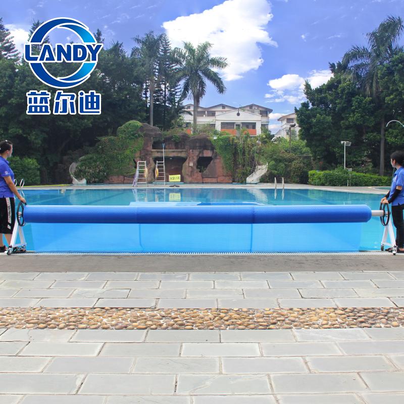 Set di bobine di copertura per piscina interrata solare in alluminio Landy