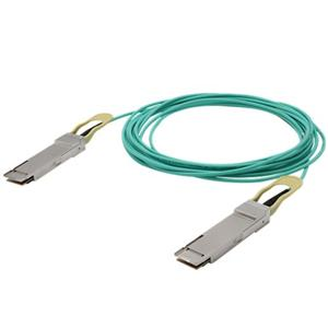 100G QSFP28 لQSFP28 الكابلات البصرية نشط
