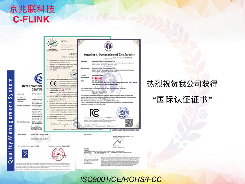 Congratulations! C-FLINK got CE