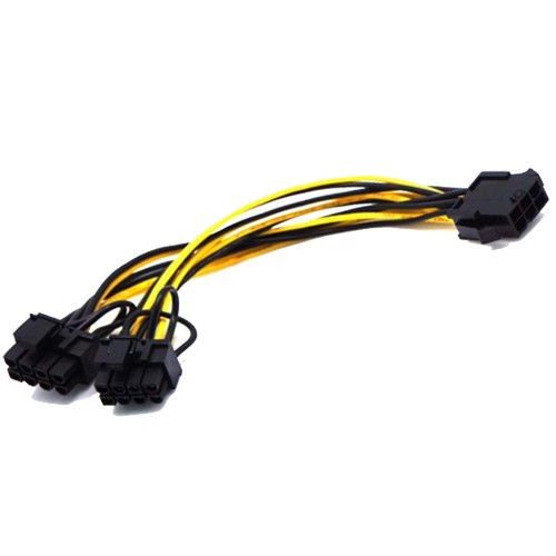 6Pin Male To 8Pin Male PCIE Power Cable For GPU Video Card Manufacturers, 6Pin Male To 8Pin Male PCIE Power Cable For GPU Video Card Factory, Supply 6Pin Male To 8Pin Male PCIE Power Cable For GPU Video Card