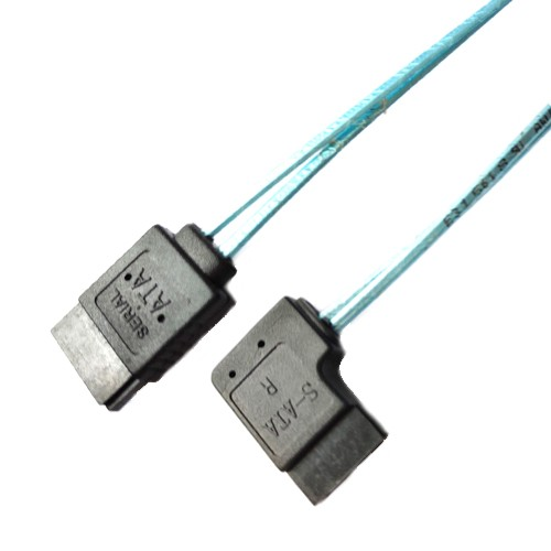 Internal Serial ATA Data Cable with 7-pin Female Data Locking Connectors Manufacturers, Internal Serial ATA Data Cable with 7-pin Female Data Locking Connectors Factory, Supply Internal Serial ATA Data Cable with 7-pin Female Data Locking Connectors