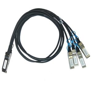 100G QSFP28 To 4xSFP28 25G Direct Attach Copper Cable