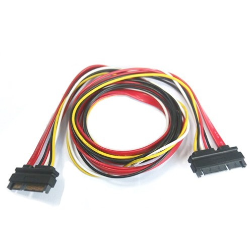 22pin (7+15) SATA Male to Male SATA and Power Combo Extension Cable Manufacturers, 22pin (7+15) SATA Male to Male SATA and Power Combo Extension Cable Factory, Supply 22pin (7+15) SATA Male to Male SATA and Power Combo Extension Cable